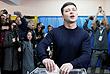 Владимир Зеленский также голосовал в Киеве...