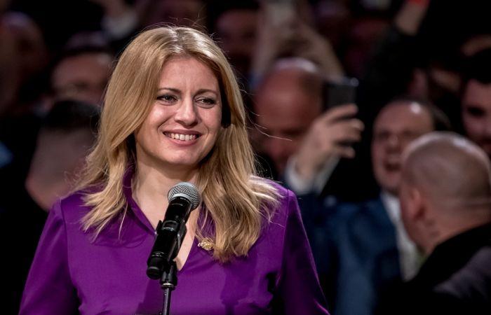 Зузана Чапутова победила на выборах президента Словакии