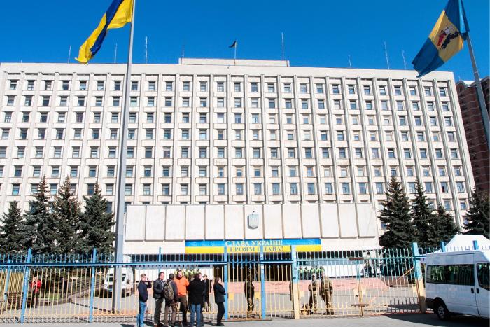Около 150 человек собрались у здания ЦИК в Киеве