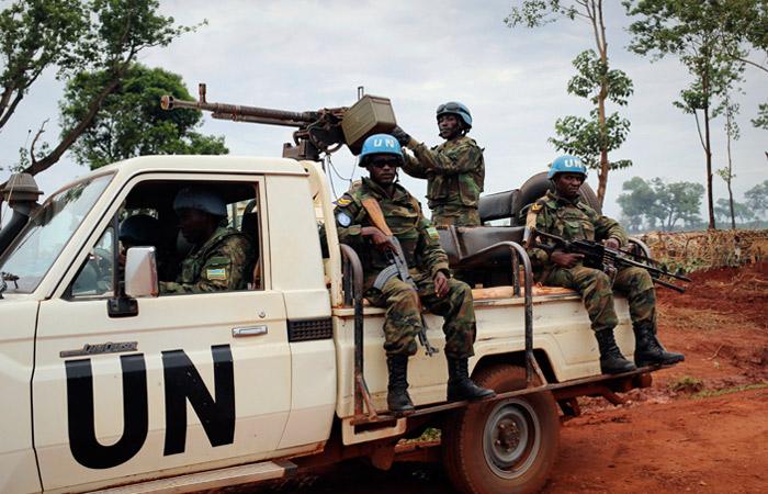 Россия направит до 30 военных в миссию ООН в ЦАР