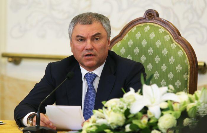 Володин прокомментировал поведение Порошенко на несостоявшихся дебатах