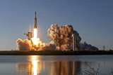 Space Х после успешной посадки потеряла первую ступень Falcon Heavy