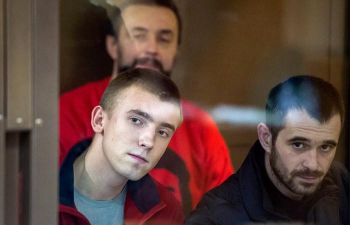 Суд в Москве продлил арест первым четырем украинским морякам до 24 июля