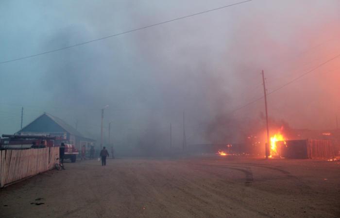Почти 300 человек потеряли дома из-за пожаров в Забайкалье