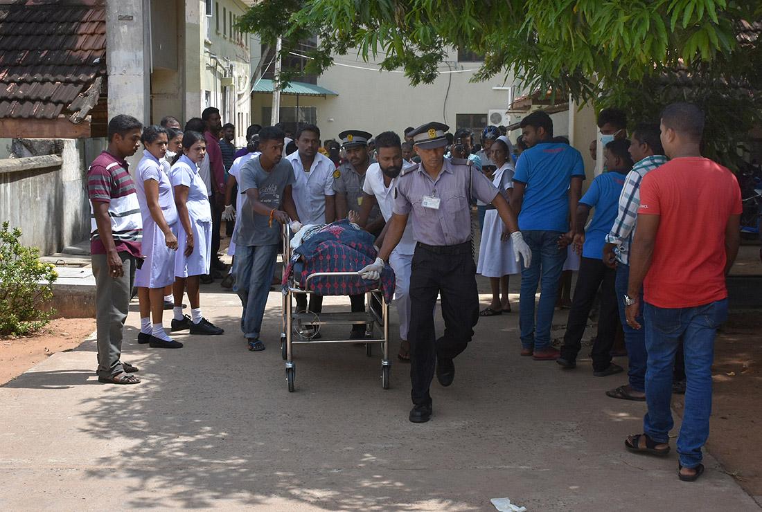 В больнице города Коломбо
