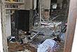 Внутри церкви Святого Антония после атаки...