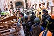 После взрыва в церкви Святого Себастьяна в Негомбо...
