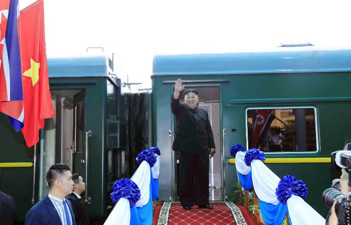 Поезд Ким Чен Ына в среду приедет в Россию