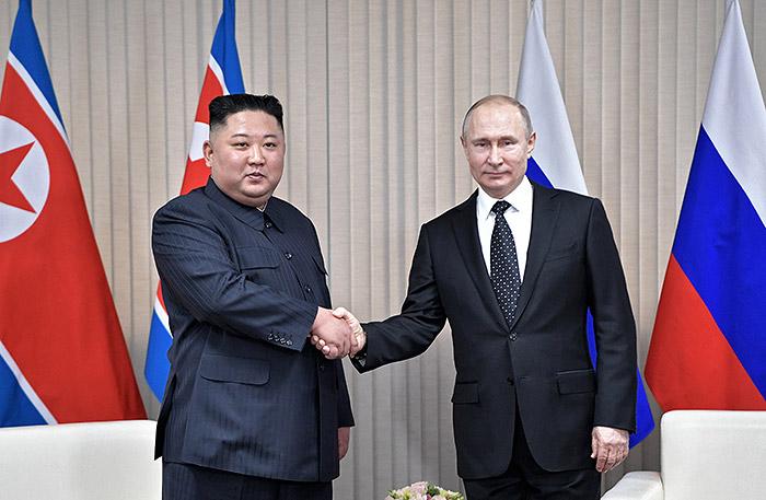 Встреча Путина и Ким Чен Ына с глазу на глаз продолжалась дольше, чем планировалось
