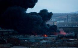 """МЧС выдвинуло версию возникновения пожара на территории """"Красмаша"""""""