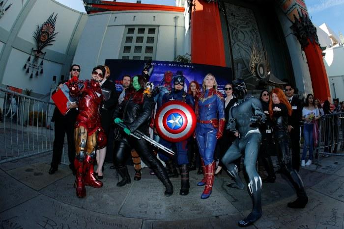 """Последняя часть """"Мстителей"""" за первые выходные собрала рекордные $1,2 млрд"""