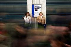 В понедельник вечером шесть станций московского метро будут работать только на вход