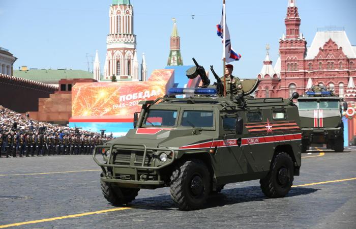 Стал известен список военной техники на Параде Победы