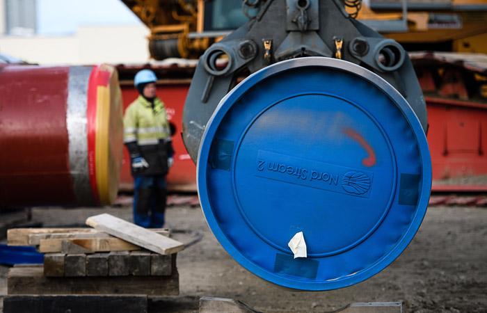 Первую нитку Nord Stream 2 начали укладывать в российских водах
