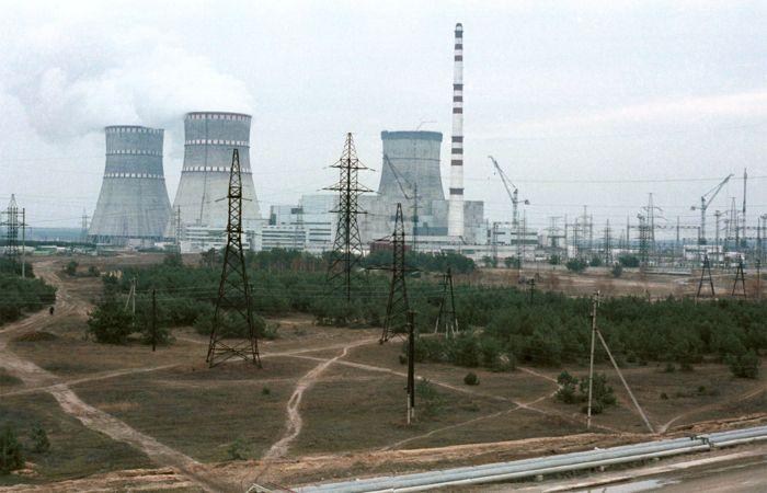 На украинской Ровенской АЭС произошел пожар