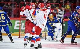 Россияне пропустили 6 шайб от шведов на Чешских играх в Стокгольме