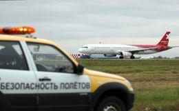 """Погрузчик врезался в пассажирский Boeing в аэропорту """"Шереметьево"""""""