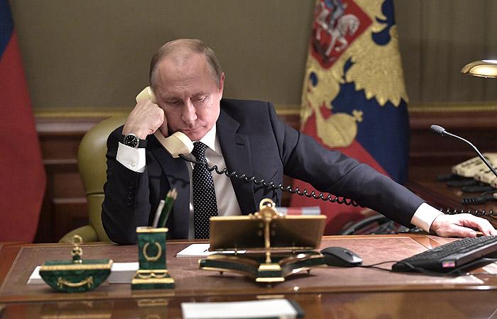 Путин и Трамп впервые за долгое время пообщались по телефону