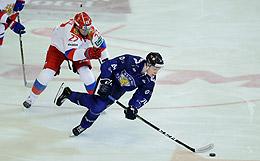 Россия проиграла Финляндии на чешском этапе Еврохоккейтура