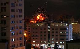 Израильская армия ударила по 120 объектам в секторе Газа