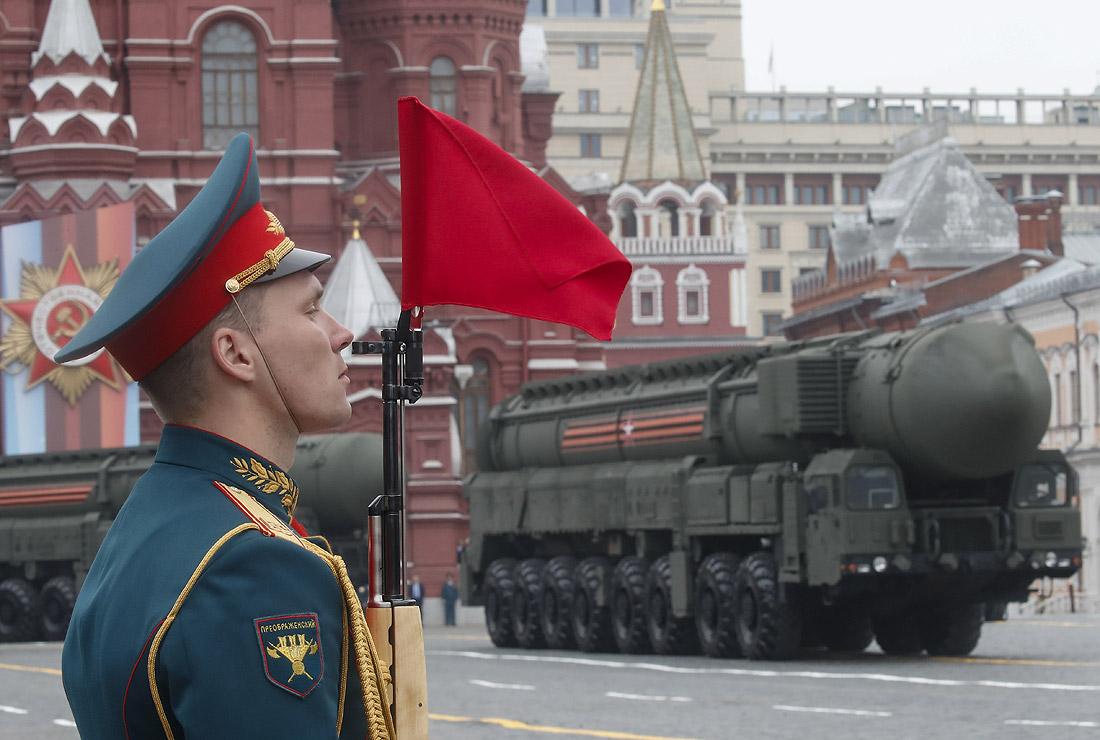 """Пусковые установки межконтинентальных баллистических ракет """"Ярс"""""""