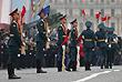 Военнослужащие почетного караула 154-го отдельного комендантского Преображенского полка
