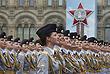 Женщины-военнослужащие, курсанты московского университета МВД