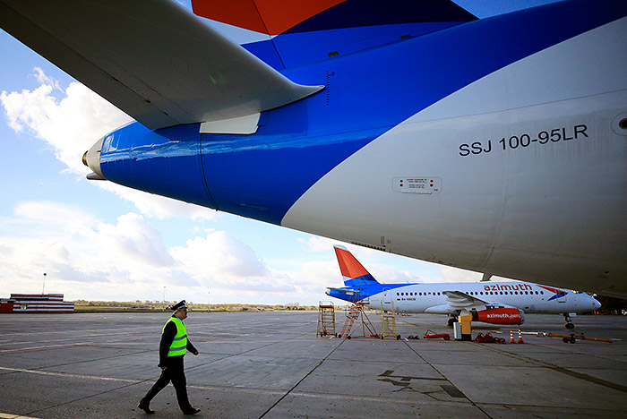 Второй за сутки рейс SSJ-100 отложен из-за неисправности