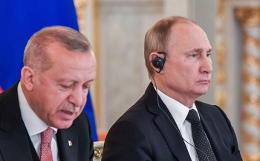 Путин поговорил по телефону с Эрдоганом