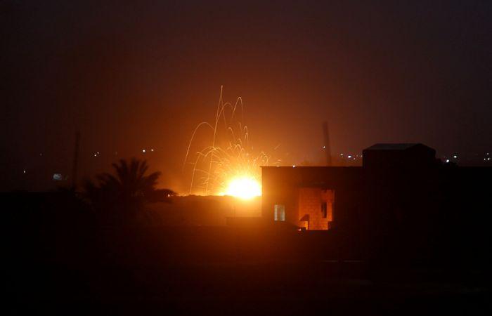 Военные в Сирии задействовали ПВО под Дамаском после обнаружения вражеских ракет