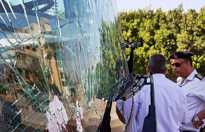 В Египте в результате взрыва рядом с автобусом пострадали 16 иностранцев