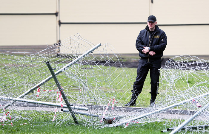 В Екатеринбурге снесут забор на месте предполагаемого храма
