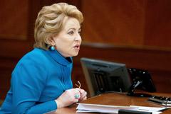 """Матвиенко заявила, что не имеет отношения к увольнению журналистов из """"Коммерсанта"""""""