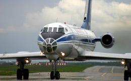 Последний Ту-134 прилетел в Новосибирск, чтобы стать экспонатом музея