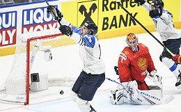 Сборная России проиграла Финляндии в полуфинале ЧМ по хоккею