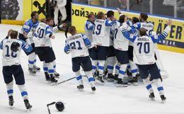 Сборная Финляндии выиграла золото чемпионата мира по хоккею