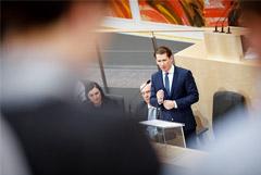 Парламент Австрии выразил недоверие правительству Курца