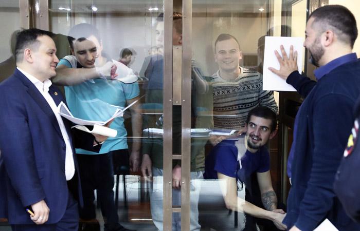 Мосгорсуд оставил в силе арест 24 украинских моряков