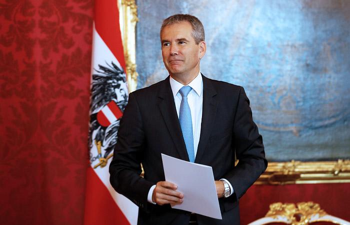 В Австрии назначен временный канцлер