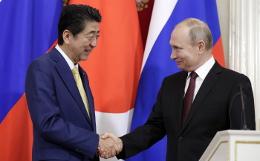Владимир Путин и Синдзо Абэ встретятся 29 июня в Осаке