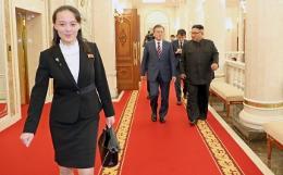 Младшая сестра Ким Чен Ына появилась на публике впервые за 52 дня отсутствия