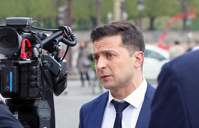 Зеленский обвинил Россию в гибели украинских военных в Донбассе