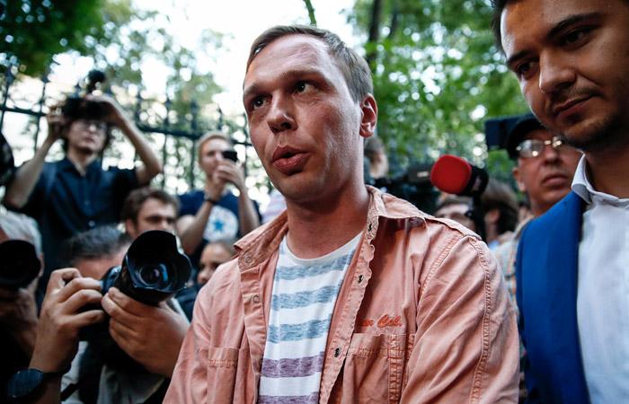 Иван Голунов вышел на свободу