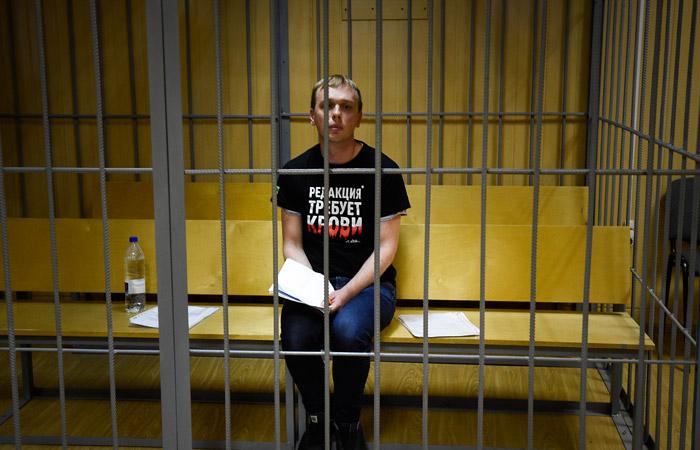 Защита обжаловала домашний арест Голунова