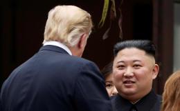 Трамп сообщил о получении дружелюбного послания от Ким Чен Ына
