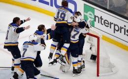 """""""Сент-Луис"""" впервые в истории выиграл Кубок Стэнли НХЛ"""
