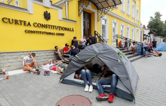 Конституционный суд Молдавии за пять минут отменил все свои решения