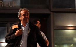 Мишеля Платини освободили из-под стражи
