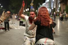 В столкновениях в Грузии пострадали 240 человек