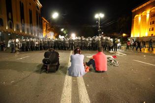 Беспорядки в Тбилиси в ночь на 21 июня